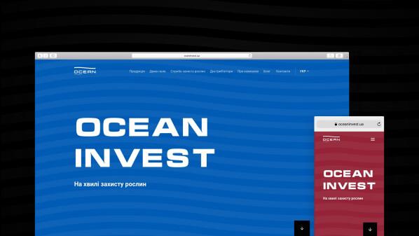 Новий сайт Океан Інвест