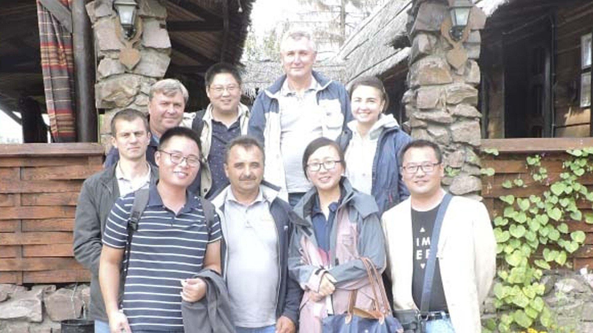 Визит в Украину рабочей группы китайского производителя